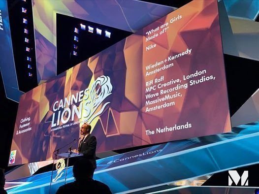 Награду «Золотой лев» получила реклама Nike «Изчего сделаны наши девчонки?»